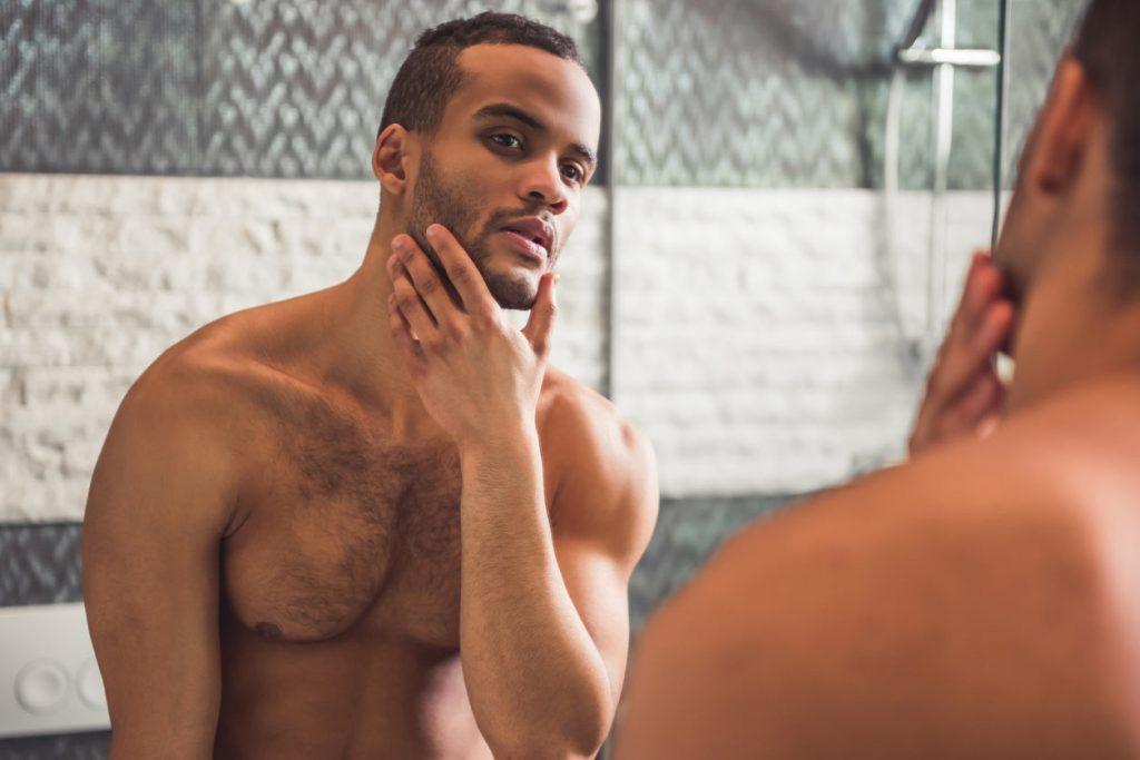 Razor Bumps face shave