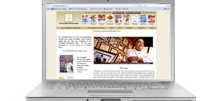 Crutchfield Dermatology Website