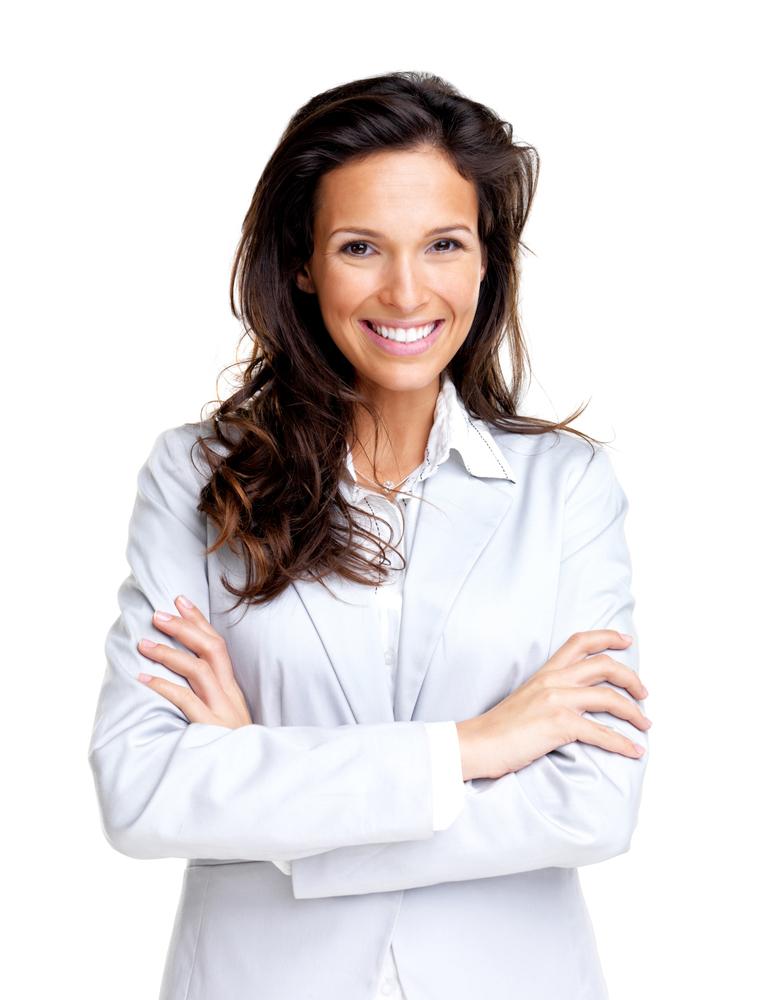 Botox woman smiling