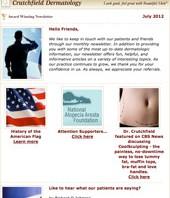 newsletter skin care