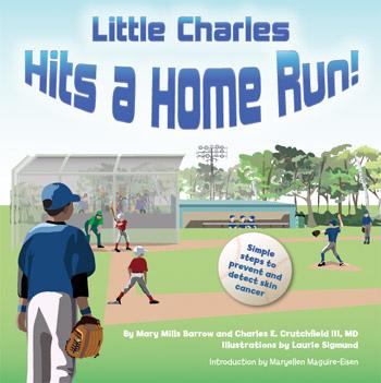 little charles hits a home run