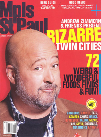 Mpls St Paul Magazine October 2012