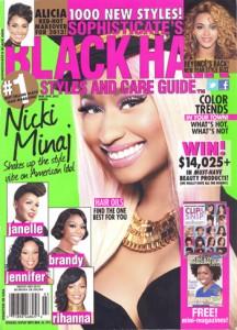 black hairstyle magazine