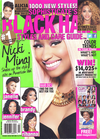 black hairstyle magazine