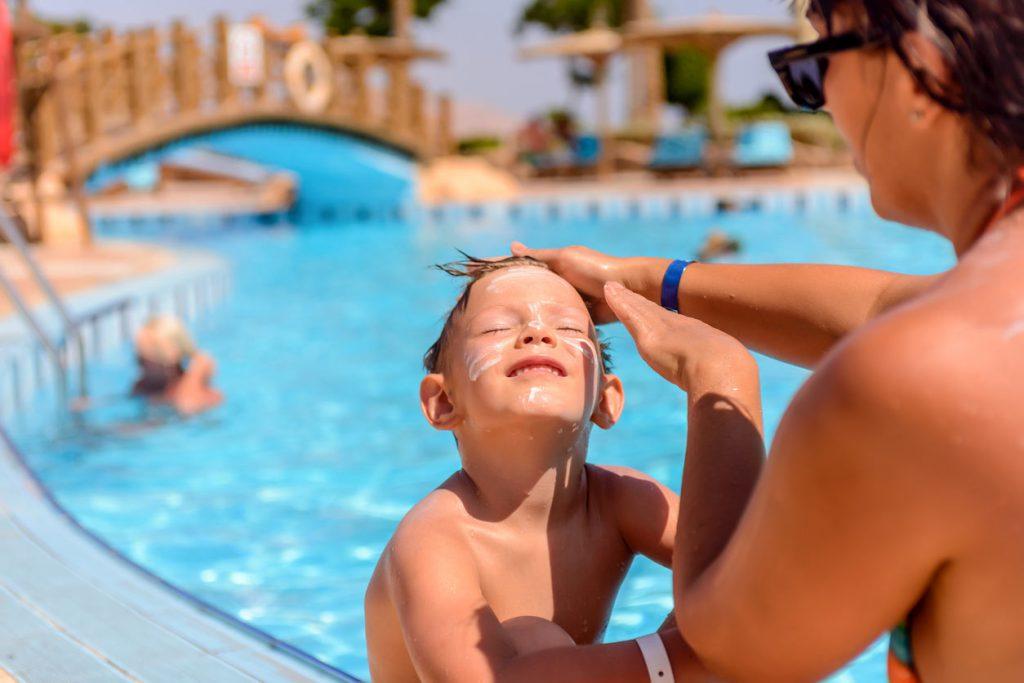 child pool sunscreen