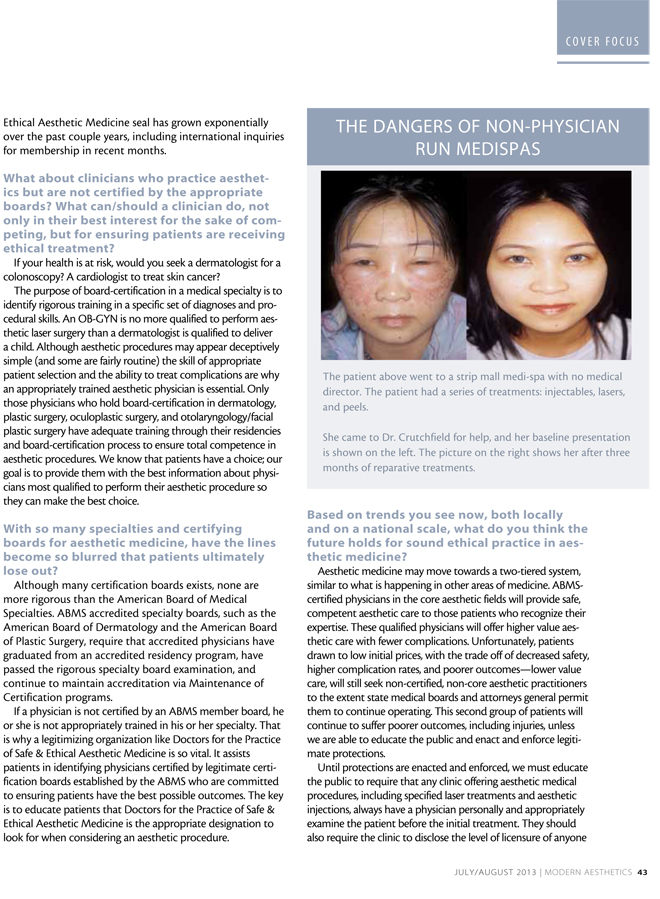 Modern Aesthetics Magazine