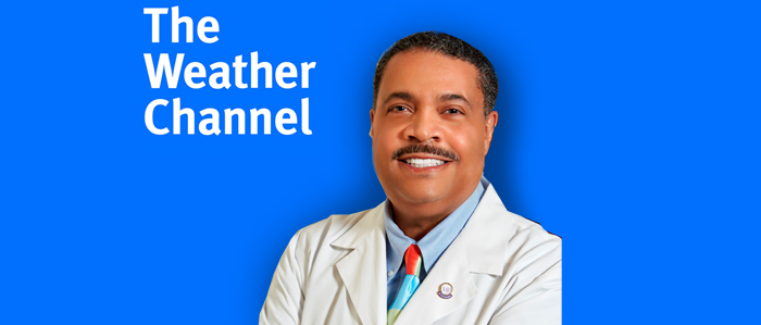 Dr. Charles Cruthfield on Weather Cahnnel