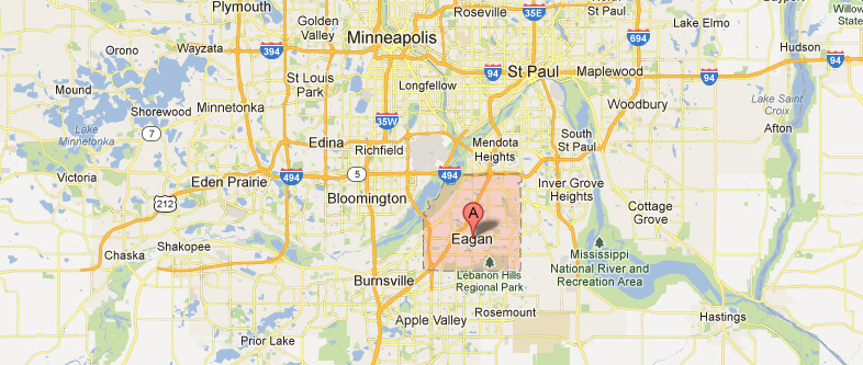 Eagan Minnesota Map Dermatologist