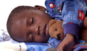 Child Sleeping African American