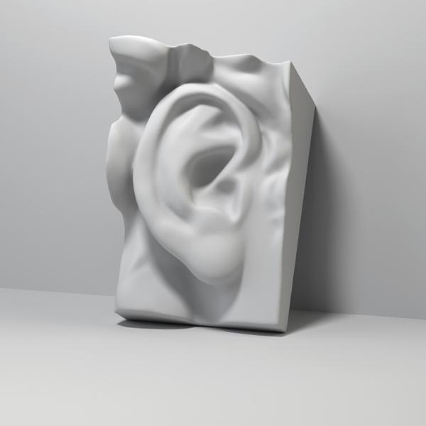 Ear casting