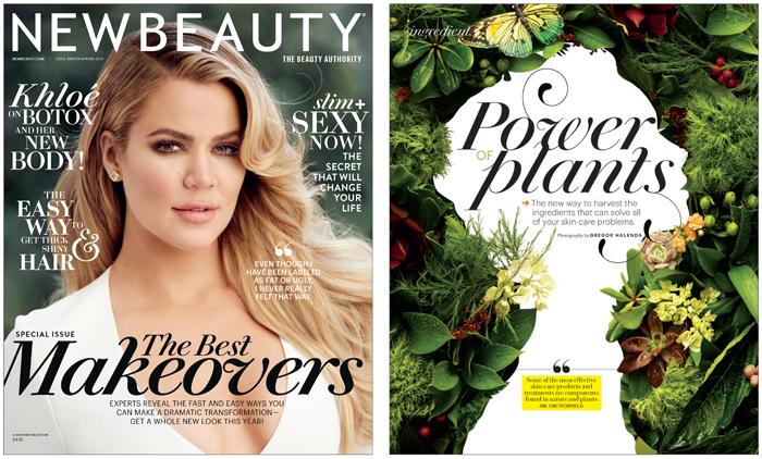 New Beauty Magazine Plants