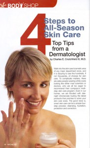 4 Step Skin Care Article