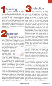 Skin Care Tips Article