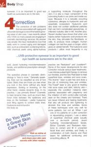 Cosmetic Dermatology Treatment Text