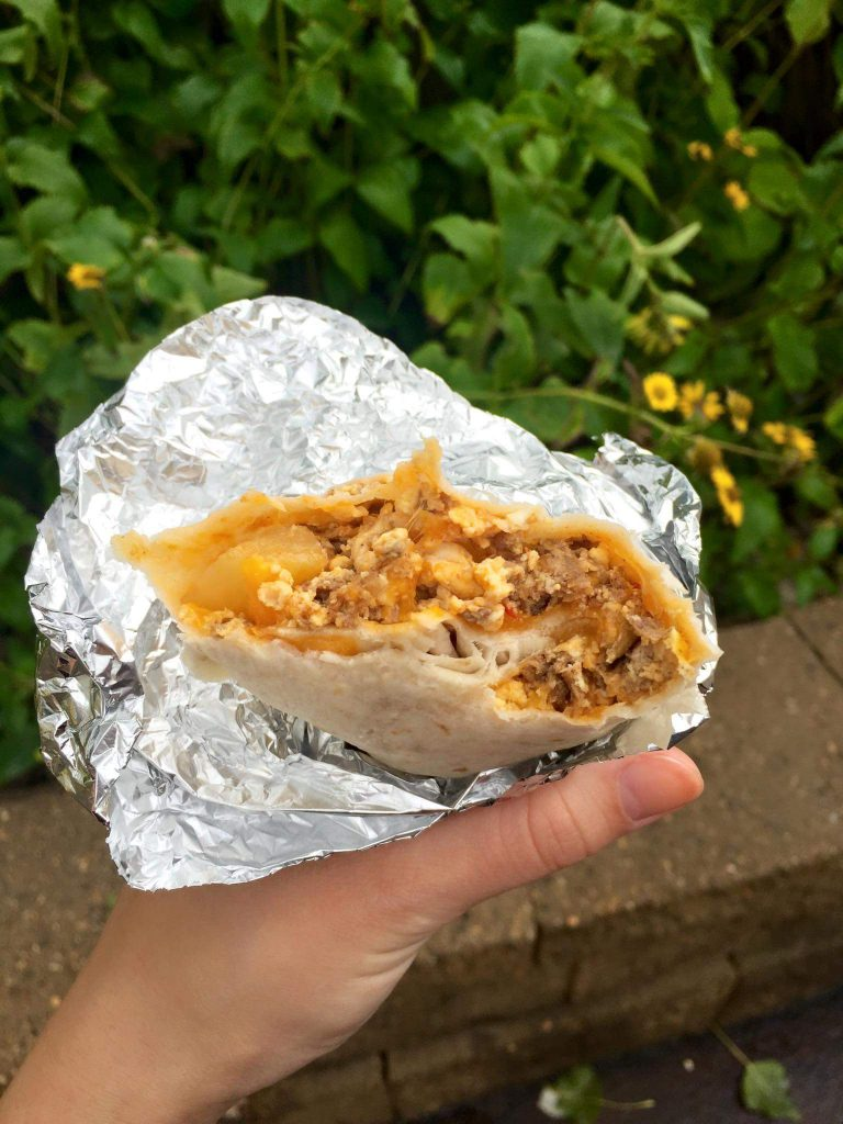Breakfast Burrito from MN State Fair