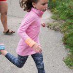 5K race participant child
