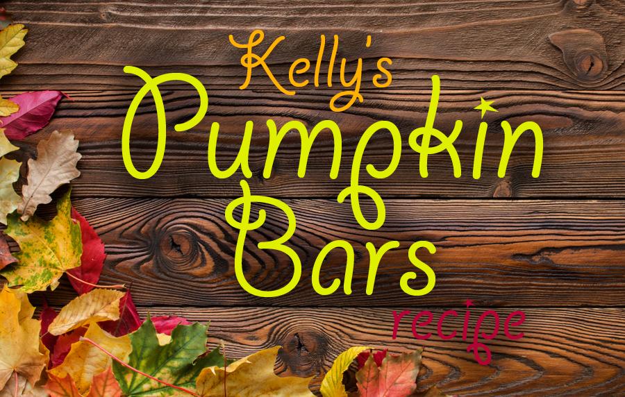 Easy pumpkin bars