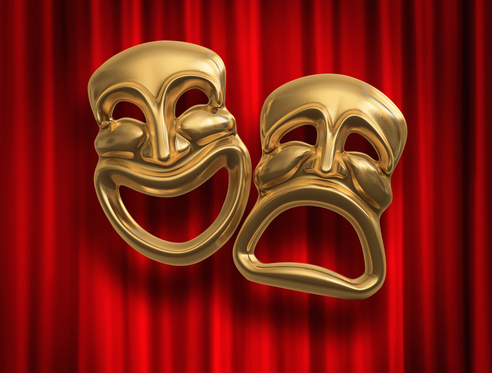 Dramatic Acting Masks