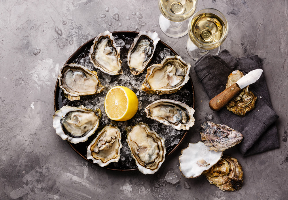 Oysters Meal