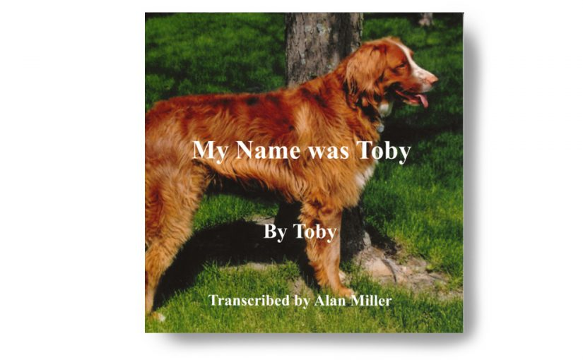 """Dog Book """"My Name Is Toby"""""""