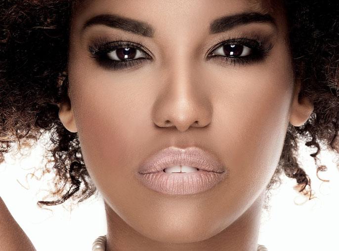 black beautiful skin