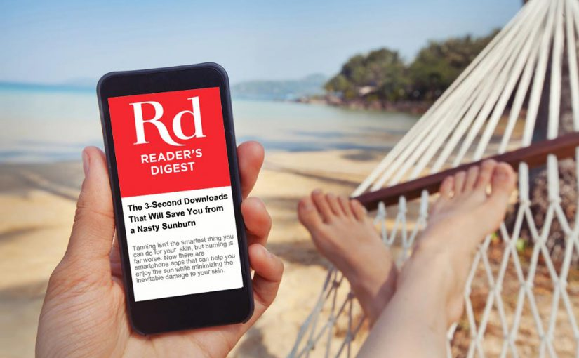 The 3-Second Downloads That Will Save You from a Nasty Sunburn