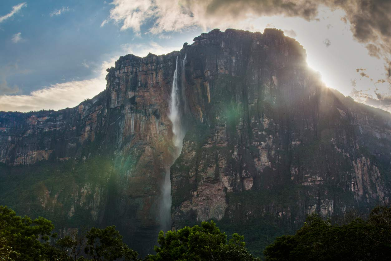 Angel Falls Waterfall