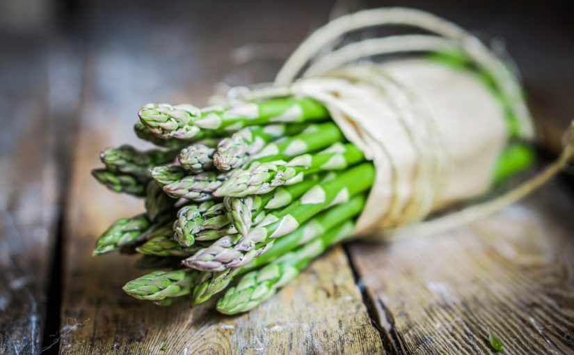 """Faster Than You Can Cook Asparagus"" Origin"