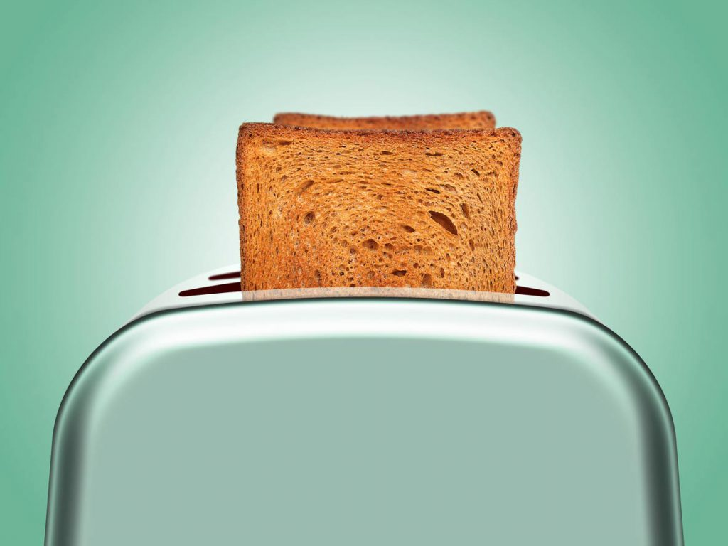 invention toaster