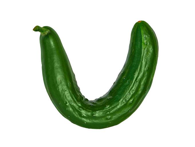 Cucumber bent