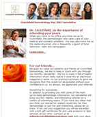 Crutchfield Dermatology Newsletter