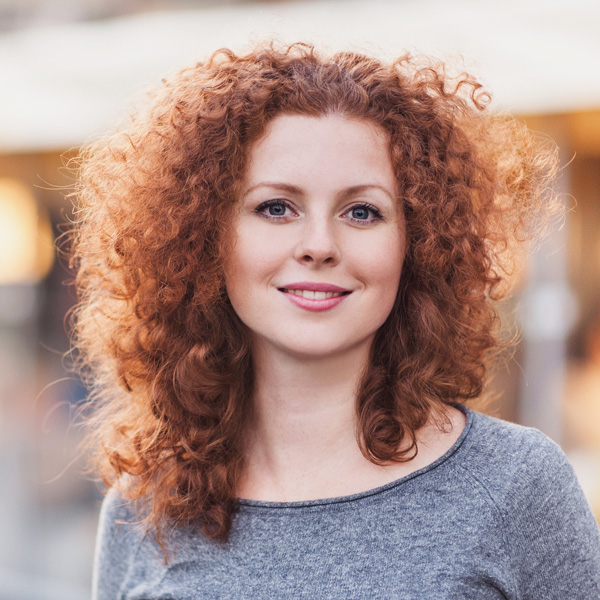 Restylane woman with red hair