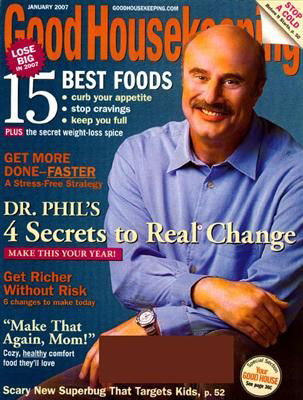 Good Housekeeping MAgazine January 2007
